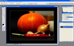 Das Ausgangsfoto: Herbsterwachen (VII) + Rezept für Kürbissuppe