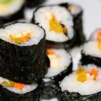 Paprika, Tofu und Karotten