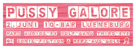 Flyer: Pussy Galore