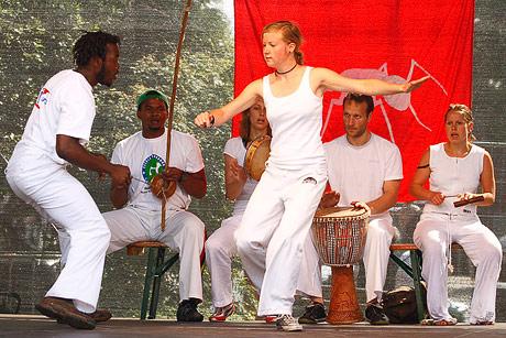 Capoeira (Roda im Clamart-Park)