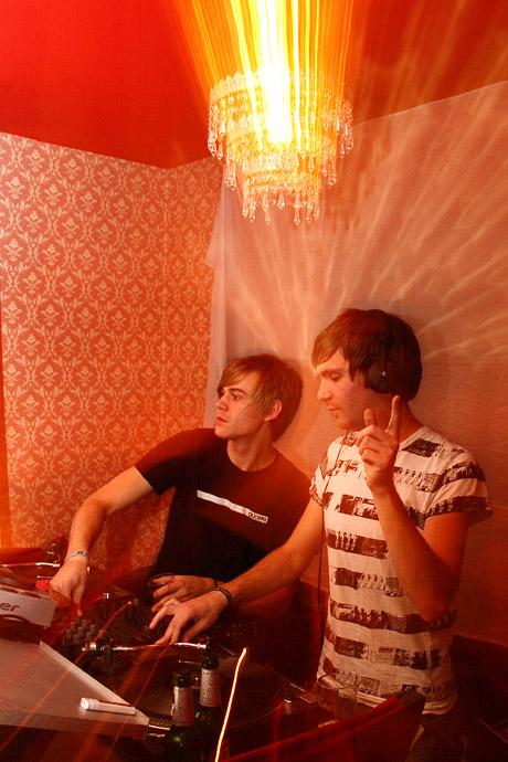 Patlac und Matthias Meyer (2.)