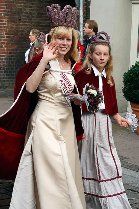 Heidekönigin aus Amelinghausen